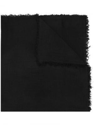 Classic cashmere scarf Ann Demeulemeester. Цвет: красный