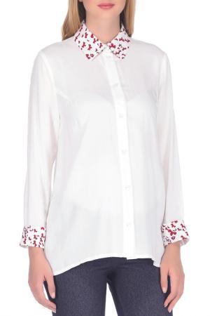 Рубашка Nuova Vita. Цвет: белый