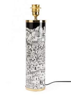 Основание для лампы Jerusalem Fornasetti. Цвет: черный