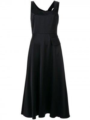 Платье-сарафан Nia Partow. Цвет: черный