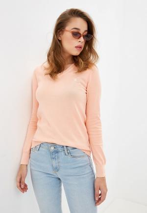 Пуловер Giorgio Di Mare. Цвет: коралловый