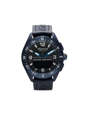 Наручные часы AlpinerX Smartwatch 45 мм Alpina. Цвет: голубой