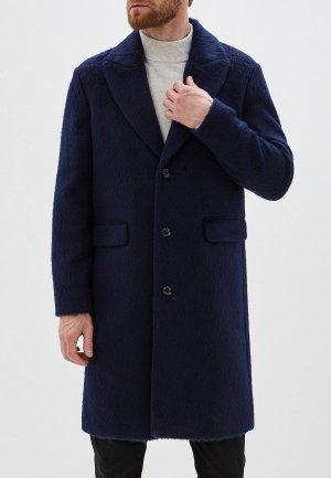 Пальто Sisley. Цвет: синий