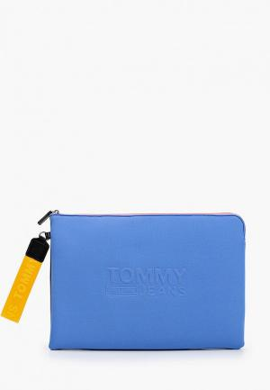 Чехол для ноутбука Tommy Jeans. Цвет: голубой