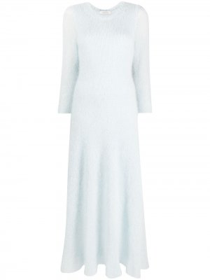 Вязаное платье миди Dorothee Schumacher. Цвет: черный