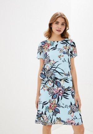 Платье Gerry Weber. Цвет: голубой