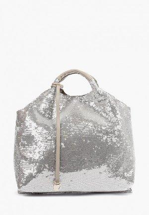 Сумка Pola. Цвет: серебряный