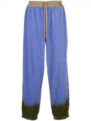 Вельветовые брюки ZZZ Bernhard Willhelm. Цвет: фиолетовый