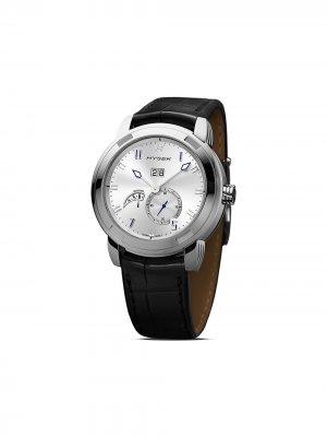 Наручные часы Annual Calendar 42 мм Jorg Hysek. Цвет: серебристый