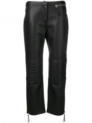 Virana leather trousers By Malene Birger. Цвет: черный
