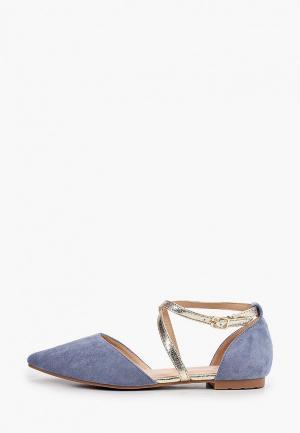 Туфли Ideal Shoes. Цвет: синий