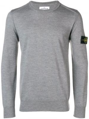 Knit sweater Stone Island. Цвет: серый