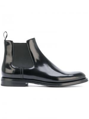 Ботинки челси Church's. Цвет: черный
