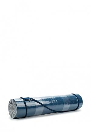 Коврик для йоги adidas Performance. Цвет: синий