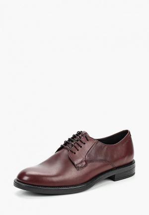 Ботинки Vagabond. Цвет: бордовый