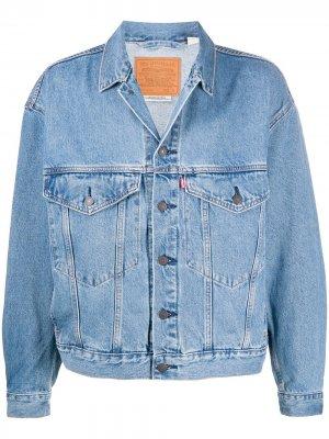 Levis джинсовая куртка Trucker Levi's. Цвет: синий