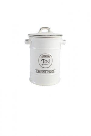 Ёмкость для хранения чая T&G. Цвет: белый