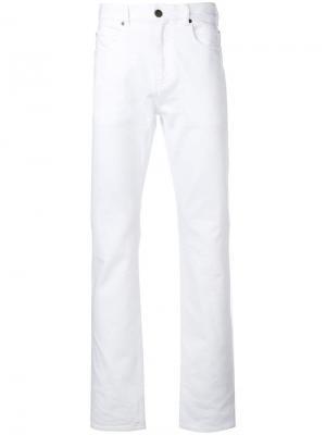 Джинсы прямого кроя Calvin Klein 205W39nyc. Цвет: белый