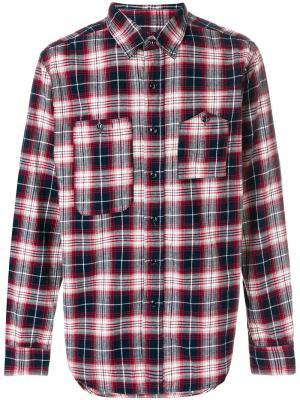 Рубашка в клетку Engineered Garments. Цвет: разноцветный