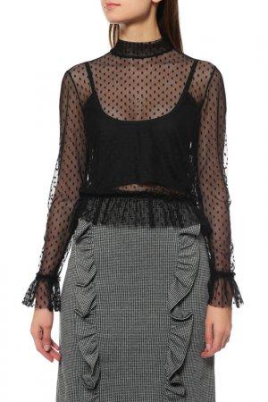 Блуза Almatrichi. Цвет: черный