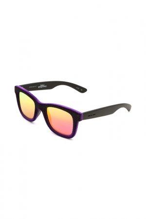 Очки солнцезащитные с линзами ITALIA INDEPENDENT. Цвет: 009 017 фиолетовый