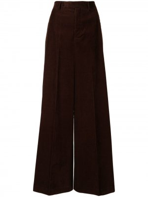 Широкие брюки Walrus Rick Owens. Цвет: коричневый