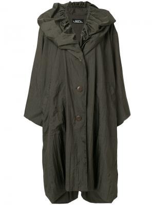 Куртка-дождевик оверсайз Issey Miyake Vintage. Цвет: зеленый