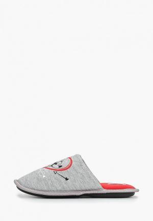 Тапочки Modis. Цвет: серый