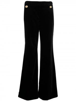 Бархатные брюки Clove Temperley London. Цвет: черный