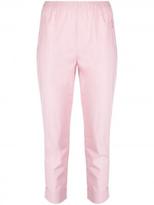 Прямые брюки Semicouture. Цвет: розовый