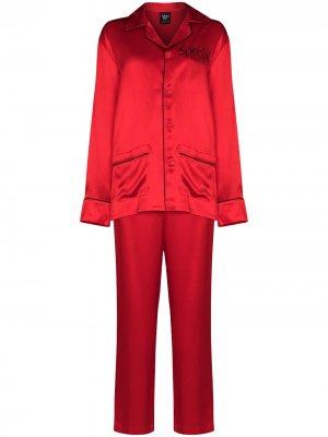 Пижама Special More Joy. Цвет: красный