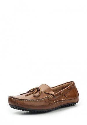 Мокасины Polo Ralph Lauren. Цвет: коричневый