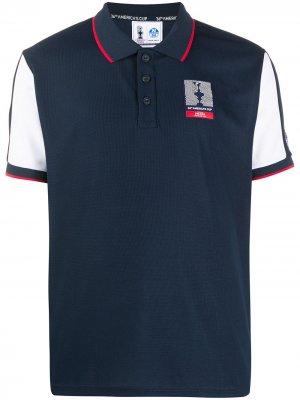 Рубашка-поло Americas Cup North Sails. Цвет: синий