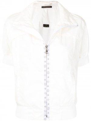 Куртка pre-owned с короткими рукавами Louis Vuitton. Цвет: белый