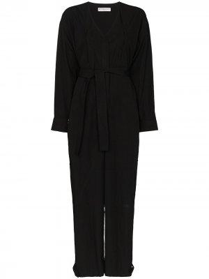 Комбинезон с поясом Givenchy. Цвет: черный