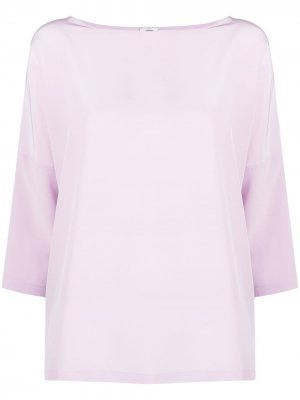 Блузка с рукавами три четверти M Missoni. Цвет: фиолетовый