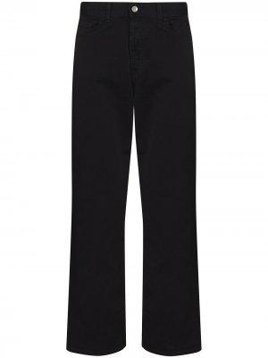 Прямые джинсы Papa YMC. Цвет: черный