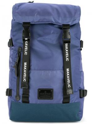 Рюкзак с ремешками Makavelic. Цвет: фиолетовый