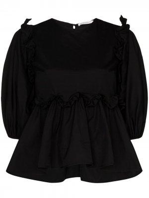 Блузка Marie Cecilie Bahnsen. Цвет: черный