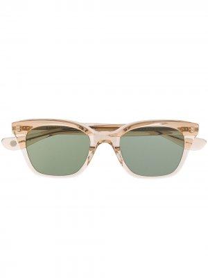 Солнцезащитные очки V Nouvelle из коллаборации с Clare Garrett Leight. Цвет: коричневый