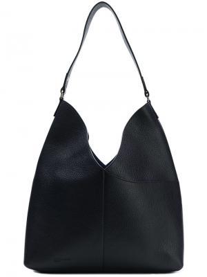Большая сумка-тоут Jil Sander Navy. Цвет: синий