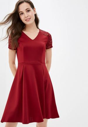 Платье Dorothy Perkins. Цвет: бордовый