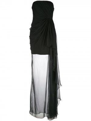 Вечернее платье Yuki Cinq A Sept. Цвет: синий