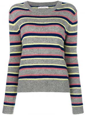 Striped jumper Chinti & Parker. Цвет: серый