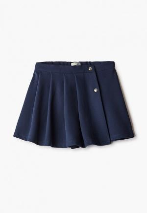 Юбка-шорты Sela. Цвет: синий