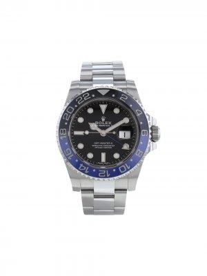 Наручные часы GMT Master II pre-owned 40 мм 2019-го года Rolex. Цвет: черный