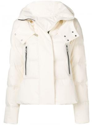 Fitted padded jacket Peuterey. Цвет: белый