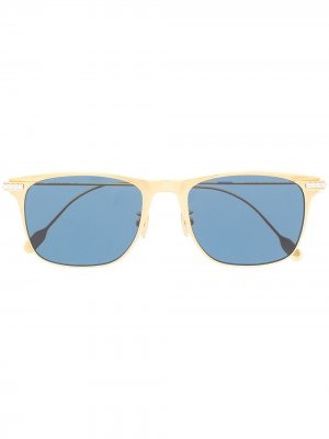 Солнцезащитные очки с затемненными линзами Fred. Цвет: золотистый