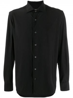 Рубашка на пуговицах Corneliani. Цвет: черный