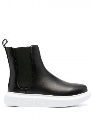 Ботинки челси Love Moschino. Цвет: черный